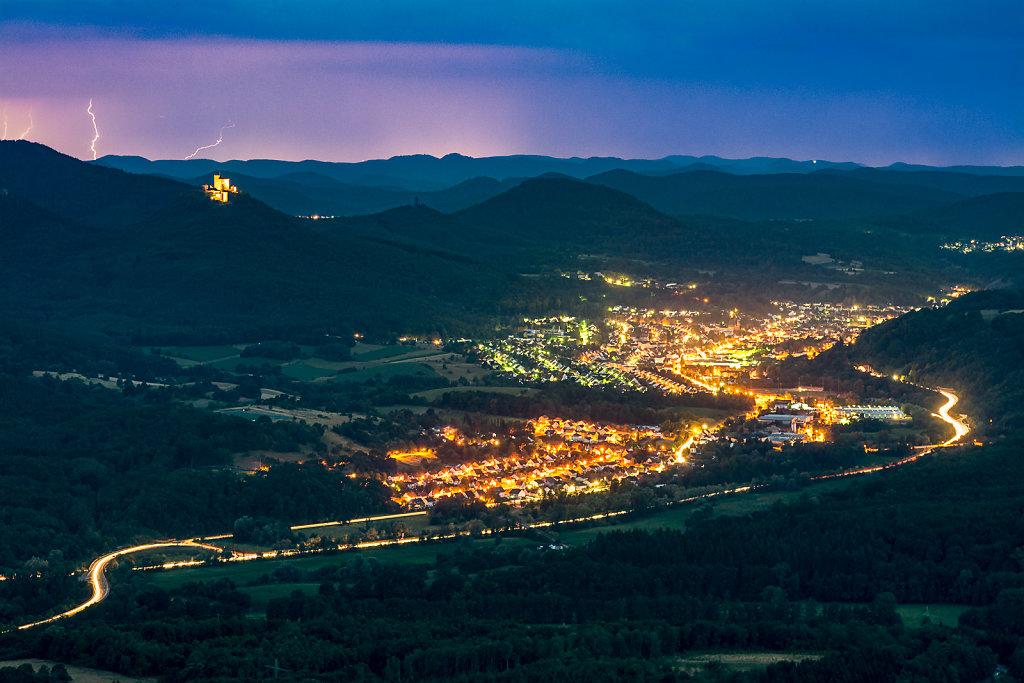 Summernight over Anweiler