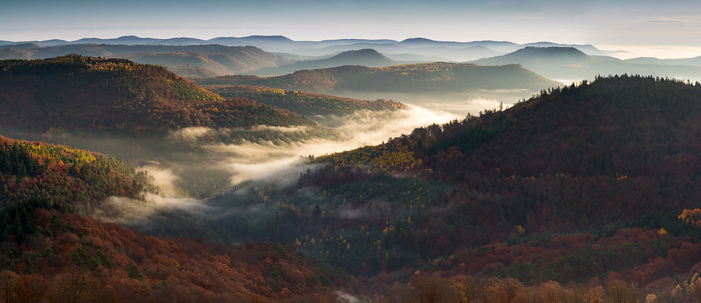 Herbstblick vom Luipoldturm