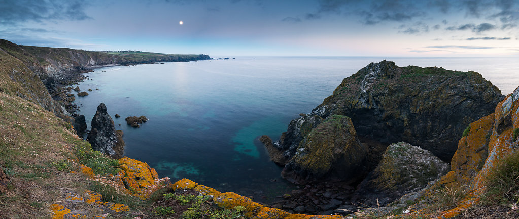 Kynance Cove Moon