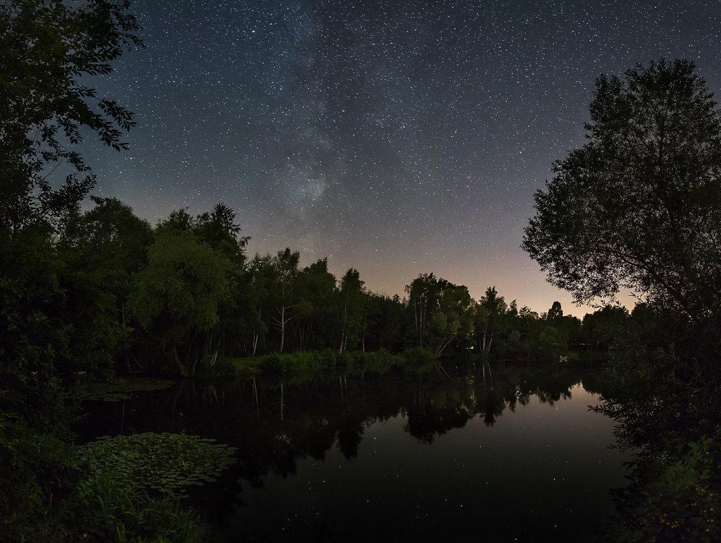 Milky Way meet Wehlachweiher