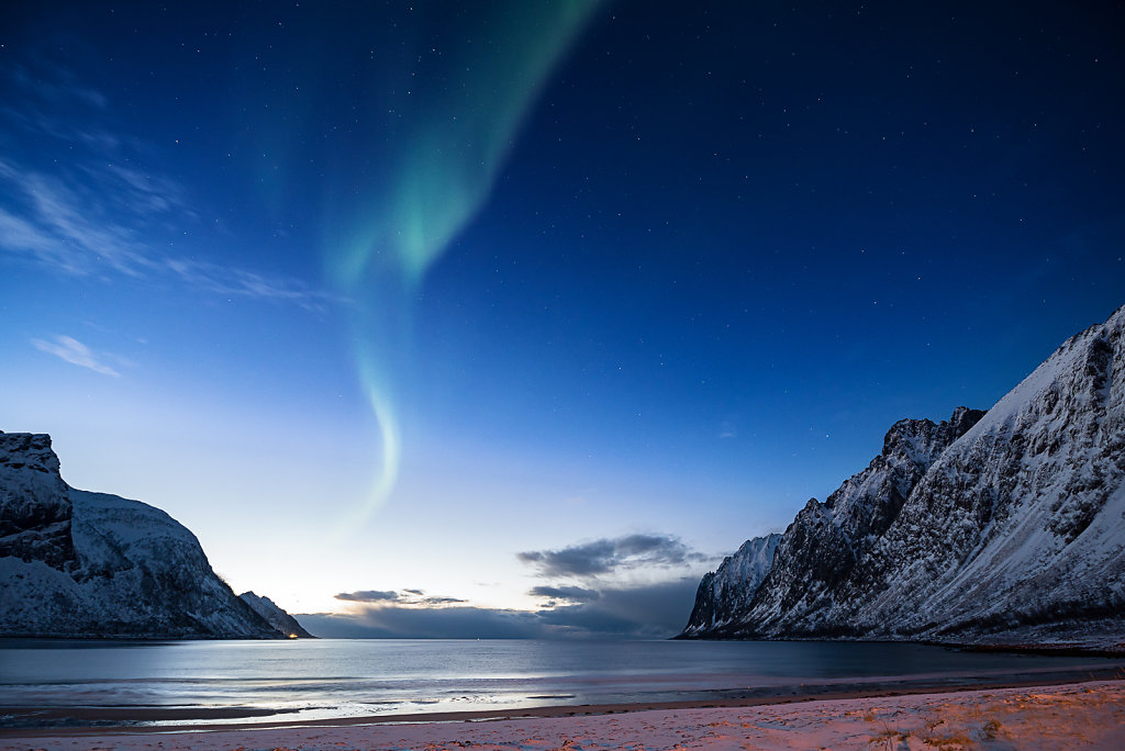 Blue Hour Northlight