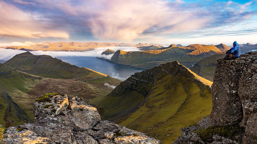 Faroer Island View